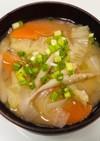健康的☆ごぼう香るたっぷり野菜の味噌汁