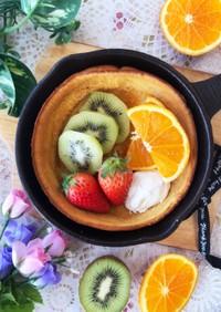 ホイップマリーム♡幸せ朝食ダッチベイビー