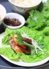 大葉味噌のサムギョプサル