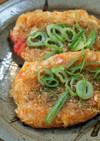 千切りキャベツで韓国風キャベツ餅