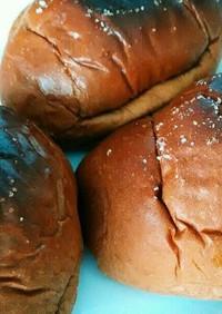 市販のロールパンで塩バターロール♪