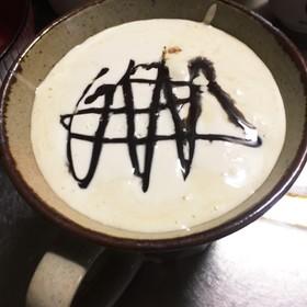 ホイップマリームでおうちカフェモカ