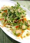 簡単!豆苗の胡麻サラダ