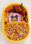 3歳偏食男子のお弁当