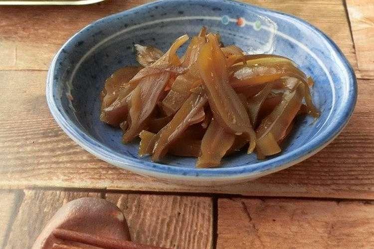 わかめ の 佃煮 作り方 茎 茎わかめの塩抜き方法!時間はどれくらい?失敗しない簡単なコツはコレ!