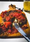 簡単!チーズinハンバーグ〜トマトソース