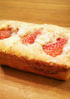 ☆手作り苺ジャムのパウンドケーキ☆