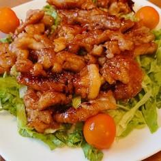 ご飯がすすみすぎ★豚肉の甘辛焼き
