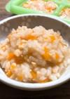 【離乳食】ねばねば納豆ご飯