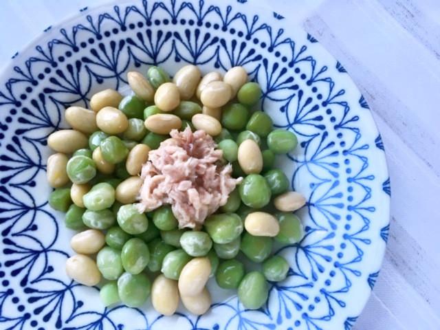 簡単!お豆とツナのデリサラダ