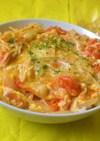 えのきとトマトの洋風丼