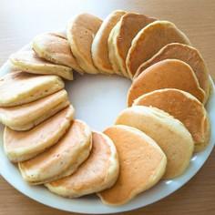 【卵なし】バナナパンケーキ