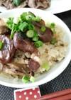 牡蠣の佃煮de楽々炊き込みご飯☆