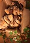 ミルクな甘さ*チョコロールパン*