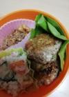 鯖缶そぼろを使ったミニ豆腐ハンバーク