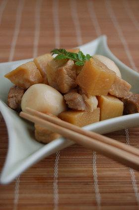 筍と豚肉のコロコロ角煮