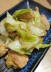 超簡単☆鶏肉とキャベツの甘辛炒め
