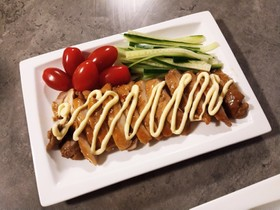 巻き寿司の具にも◎10分で照り焼きチキン