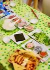 バースデーディナー  4歳  覚書