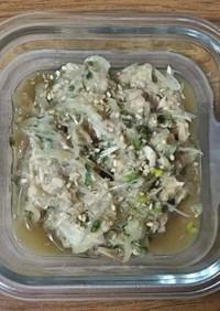 ブロッコリースプラウトと酢玉葱の和え物