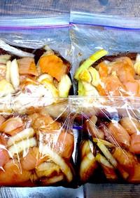 味付け冷凍レシピ♡親子丼♡