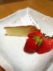水切りヨーグルトでダイエットスフレチーズの写真