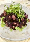 大豆と紫芋の美容サラダ