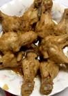 鳥手羽のオニオンソース煮込み