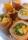 小松菜とパプリカの豚バラ巻き