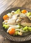 真鯛と金柑の簡単アクアパッツァ