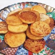 長芋のこんがりバター醤油焼きの写真