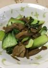 チンゲン菜のザーサイ炒め