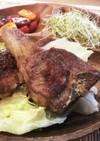 ラム肉のフライステーキ