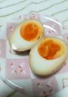 創味のつゆで煮卵(風)
