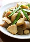 夕弁当♪鶏むね肉こんにゃく筍の味噌炒め