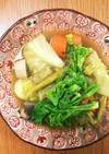 鯖缶で春野菜のカレーポトフ