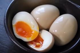ジップロックで簡単煮卵!半熟とろり味玉♩