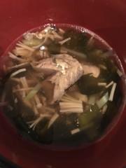 簡単絶品!鯖とわかめのスープ♪ダイエットの写真