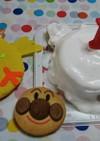 1歳のお誕生日ケーキ(*^^*)二男