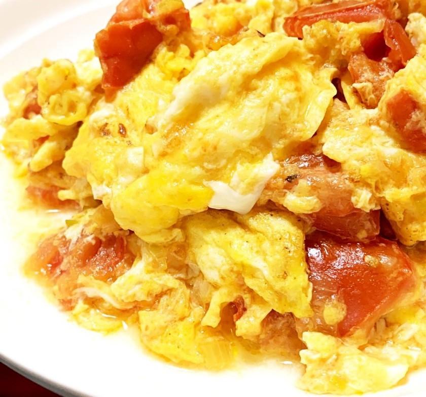 中華☆卵とトマトの炒め