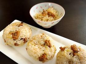 あさりと生姜の混ぜご飯