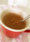 砂糖不使用の豆乳甘酒ココア(ハーブ入り)