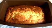 混ぜるだけ 簡単 バナナ パウンドケーキの写真
