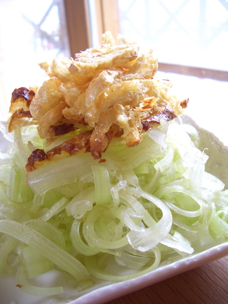 しゃきしゃき☆フキのサラダ