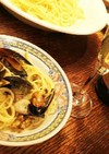 牡蠣&ムール貝の地中海シーフートパスタ
