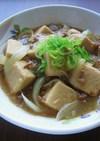 高野豆腐の中華煮