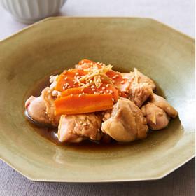 レンジで10分!鶏もも肉の中華風蒸し