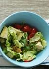 サラダチキンとレタスの簡単サラダ♪