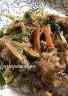 栄養満点❤鶏レバニラ炒め