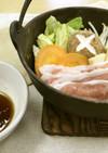 豚肉と野菜の酒蒸し鍋(透析食)